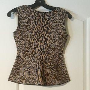 BCBG MAXAZRIA JACQUARD blouse